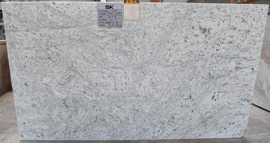 CLASSIC WHITE GRANITE POLISHED 3CM